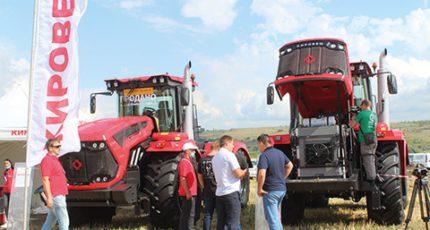 Российская сельхозтехника покоряет Болгарию