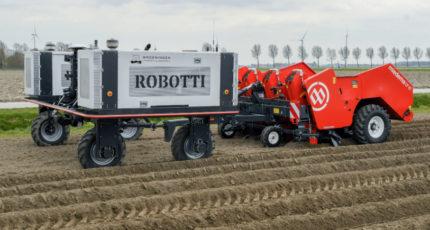 Робот на картошке