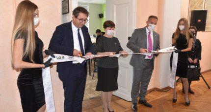 В Воронежском ГАУ состоялась торжественная церемония открытия учебной аудитории, созданной при поддержке французской компании LIDEA